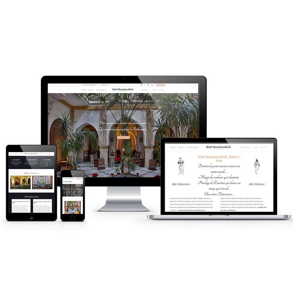 web design riad-moucharabieh