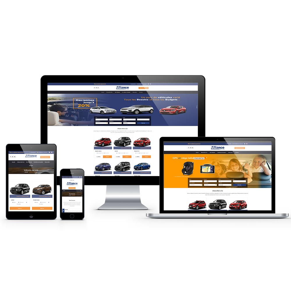 web design alliance rent a car