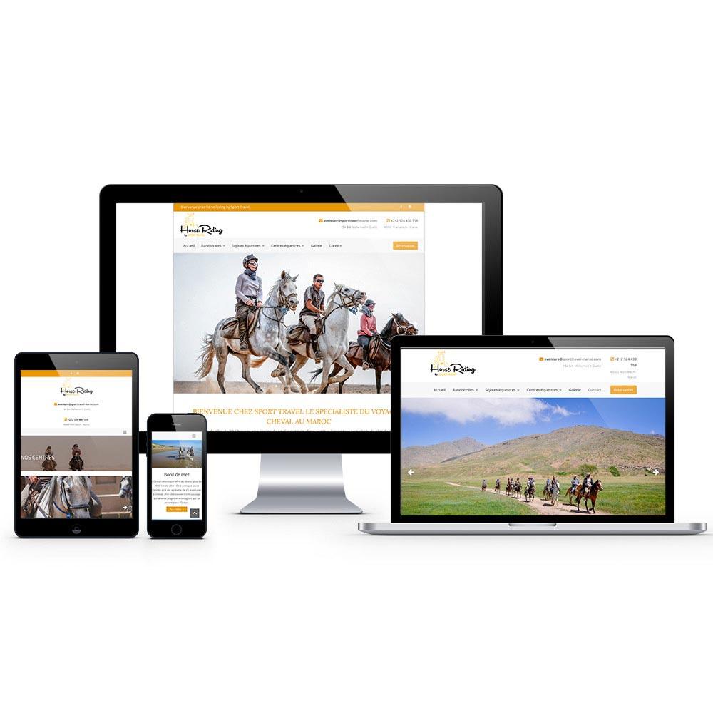 webdesign horse riding