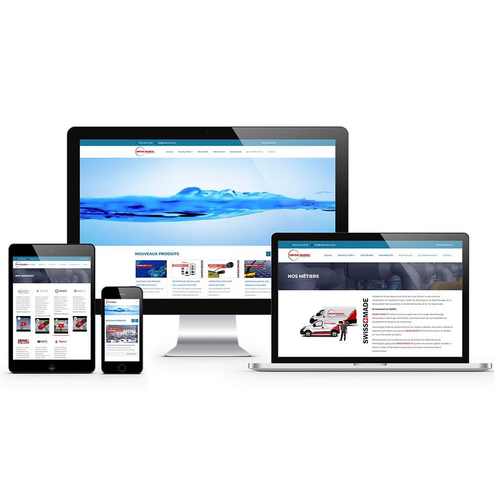 creation site internet swiss-maroc website