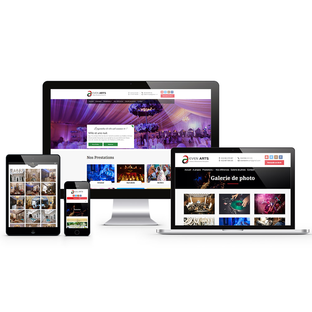 evenarts webdesign