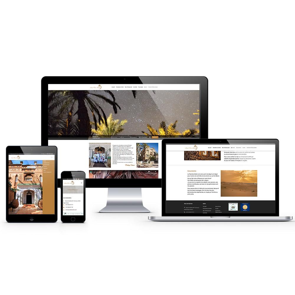 riad dar soufian webdesign