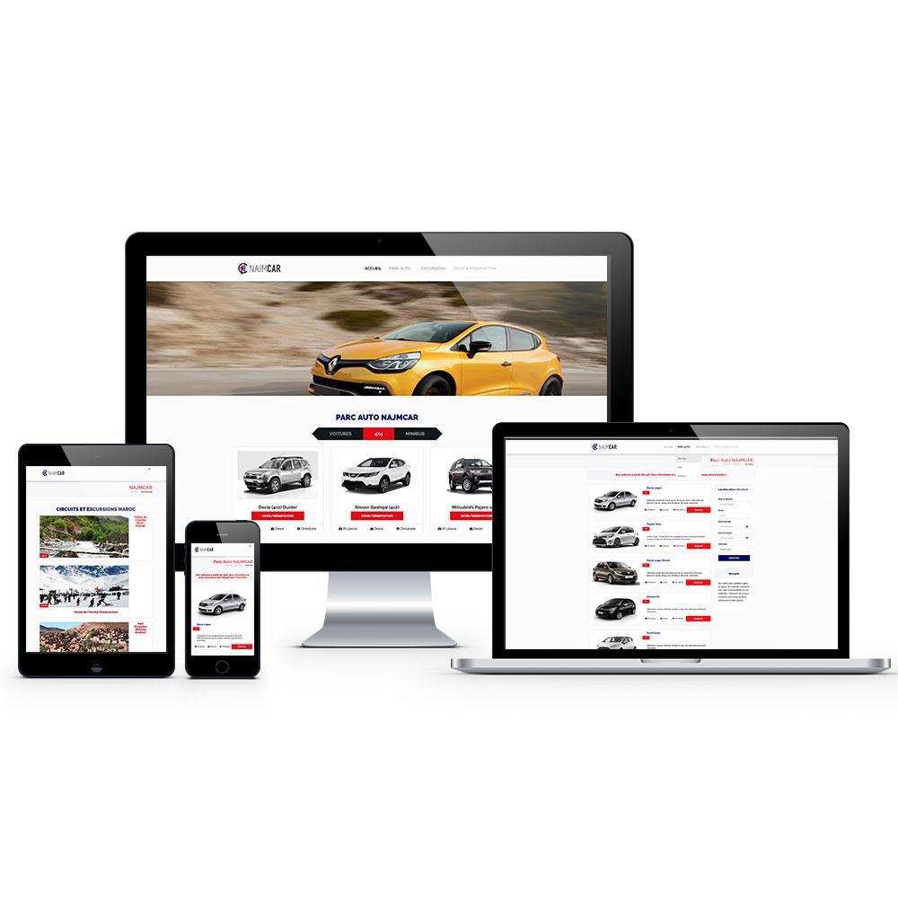 najmcar webdesign